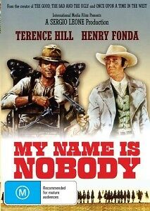 MY NAME IS NOBODY  TERENCE HILL & HENRY FONDA - NEW DVD
