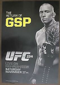UFC GSP Posters