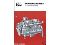 Dorman 6da diesel engine /marine/industrial/stationery/boat engine/barn find/