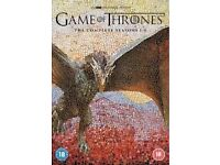 Game of thrones complete box set 1to 6 new