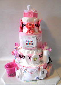 Diaper Cake Creations by bummy Bear.... awesome Shower Gifts