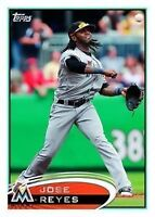 Jose Reyes Shortprint Topps 2012 (Rare)