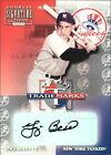 Yogi Berra Autograph Baseball Cards