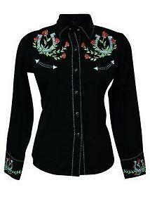 Vintage Embroidered Western Shirts