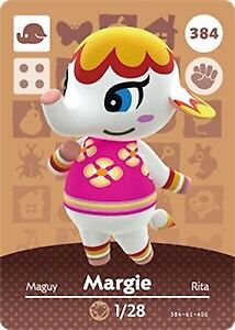 WANT - Animal Crossing Card 384 Margie Busby Liverpool Area Preview