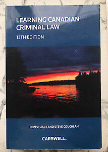 Learning Canadian Criminal Law, 13th Edition Textbook
