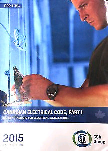 2015 Canadian electrical code book