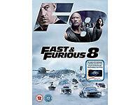 Fast & Furious 8 DVD + digital download Brand New