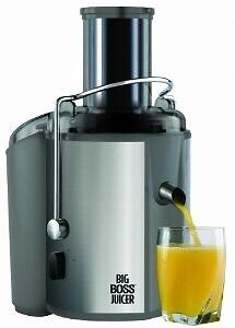 Big Boss Juicer with juicing books