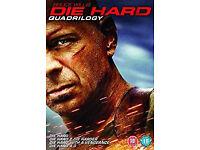 Matrix trilogy and Die Hard quadrilogy
