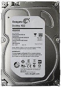 4TB Hard Drive (Seagate Desktop HDD 4TB ST4000DM000) Kitchener / Waterloo Kitchener Area image 1