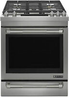"""Brand Name 30"""" Stainless Steel Gas Range With 19,000 BTU Dual St"""