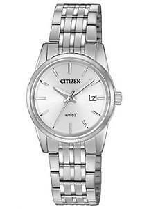 Citizen Womens EQ0540-57A Analog Display Japanese Quartz Silver