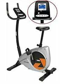 Exercise Bike - York Aspire Electric Exercise Bike 53070 - Hand pulse sensors