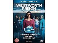 Wentworth Prison series 1-4