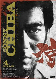Sonny Chiba Collection and Best of Sonny Chiba dvd sets-$5 each