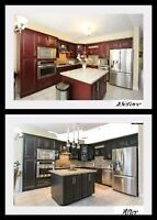 All your , cabinets,stairs,Furniture