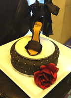 Professional custom-baked wedding cakes - starting at only $300