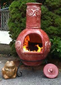 OUTDOOR CHIMINEA & FIREPLACES