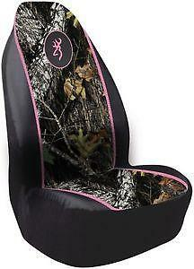 Pink Mossy Oak Seat Covers