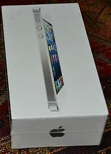 BRAND NEW APPLE IPHONE 5 BOX - BUY EMPTY OR WITH ACCESSORIES