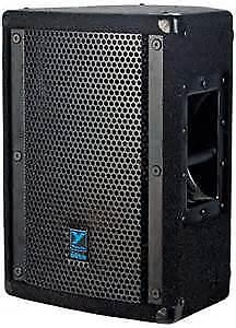 Yorkville powered pa speaker system