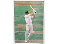Glenn Turner Signed 1978 Benefit Cricket Brochure Worcestershire New Zealand Autograph