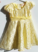Yellow Flower Girl Dresses * Calgary Wedding And Party Rentals