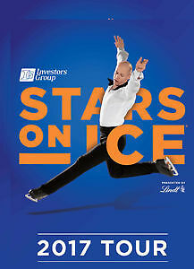STARS ON ICE - FACE VALUE - UP TO 8 TICKETS