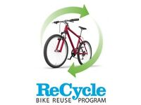 Free unwanted bicycles&folding bicycles wanted free