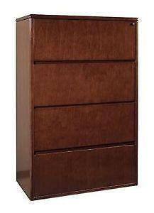 Wood File Cabinet Ebay