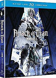 (Anime) Attack on Titan Part 2 (Ep. 14 to 25) - Blu-Ray + DVD