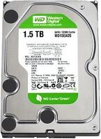 1.5 TB Western Digital Hard Drive