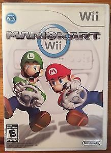 Mario kart Wii In Great shape and complete.
