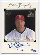 Mark McGwire Autograph