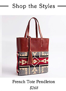 Roots x Pendleton French Tote
