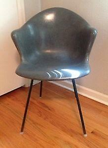 Mid Century Fiberglass Chair Ebay