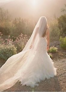 Selling NEW Very elegant! and WOW length veils!