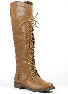 Lace Up Boots - Knee High 590008a10