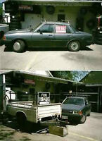 1981 Mazda 626 and Utility Trailer - A1 Mechanics