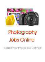 Online photography job - Submit photos and earn cash!