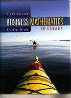 Business Mathematics in Canada - 6th Edition F.Ernest Jerome