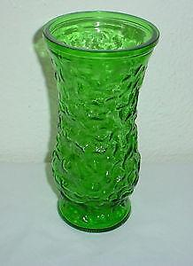 Hoosier Green Glass Vase Ebay