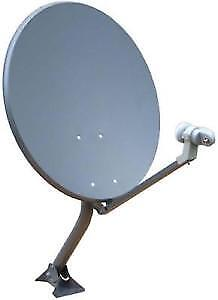 """33"""" satellite dish assembly with lnb"""