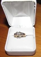 14 KT gold DIAMOND ring total 0.63ct
