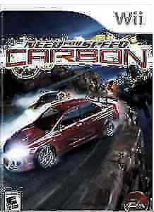 WII NEED FOR SPEED CARBON