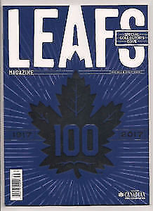 2016 MAPLE LEAFS: 100th Anniversary Special Collector`s Magazine