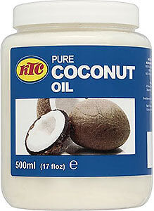 KTC 100% Pure Coconut Oil - Edible, Cooking, Hair & Skin Moisturiser.