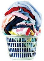 Full Laundry Services - Wash, dry, fold - pick up and delivery