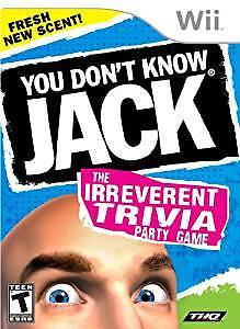 YOU DON'T KNOW JACK (used) byTHQ for Nintendo Wii Console